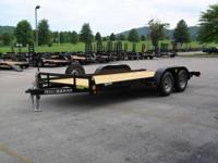 BRAND-NEW STURDY TRAILER $ 2590 18' LOW PROFILE ** BIG
