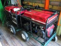 (2) 2014 Gillette Gen-Pro 12,500KW Generator with 20HP