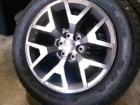 "20"" GMC Sierra factory 4x4 wheels with tires  Texas"