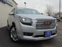 This GMC Acadia Denali is a great pre-owned car. Clean