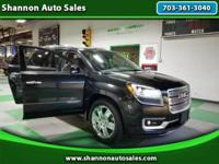 "2014 GMC ACADIA ""DENALI"" AWD * NAVIGATION * TWIN PANEL"