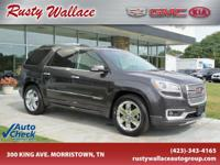 CarFax 1-Owner, This 2014 GMC Acadia Denali will sell