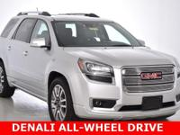 CARFAX One-Owner. Clean CARFAX. This 2014 GMC Acadia