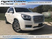 Options:  2014 Gmc Acadia Denali|White Diamond