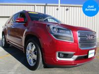 This notable Acadia, with its grippy AWD, will handle