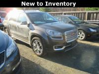 Acadia... Denali... AWD... 3.6 V6... Leather... Heated