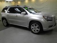 GMC CERTIFIED! New Arrival.. Drive this flexible Acadia