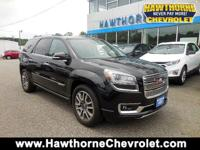 CERTIFIEDCarfax One Owner 2014 GMC Acadia Denali All