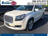 CLEAN CAR FAX 2014 GMC ACADIA DENALI AWD**TWO