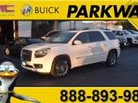 2014 GMC Acadia Denali Summit White 3.6L V6 SIDI New