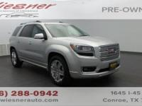 Safe and reliable, this certified Used 2014 GMC Acadia