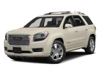 Sturdy and dependable, this Used 2014 GMC Acadia Denali