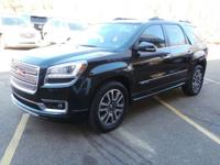 Certified. 2014 GMC Acadia Denali FWD 6-Speed Automatic