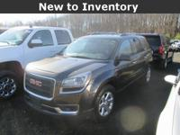 Acadia... SLE... AWD... 3.6 V6... 6-Speed Automatic...