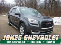 LOW MILES, This 2014 GMC Acadia SLE-1 will sell fast