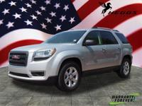Options:  2014 Gmc Acadia Sle-1|Sle-1 4Dr Suv|3Rd Row