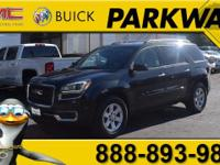 2014 GMC Acadia SLE-1 Carbon Black Metallic 3.6L V6