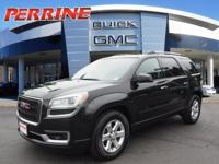 Recent Arrival! CARFAX One-Owner. 2014 GMC Acadia SLE-2