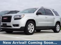 2014 GMC Acadia SLE-2 in Quicksilver Metallic, AWD,