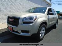 Look at this 2014 GMC Acadia SLE. Its Automatic