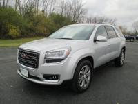 Like new and very well equipped! This 2014 GMC Acadia