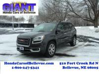 This outstanding example of a 2014 GMC Acadia SLT is