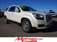 2014 GMC Acadia SLT-1 in White Diamond Clearcoat with