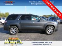 This 2014 GMC Acadia SLT-1 in Grey is well equipped
