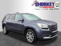 Recent Arrival! 2014 GMC Acadia SLT-1 CARFAX One-Owner.