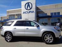2014 GMC Acadia SLT-1 in Quicksilver Metallic, *NO