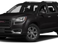 Options:  2014 Gmc Acadia Slt-1|Miles: 43255Color: