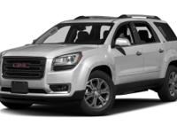 This 2014 GMC Acadia SLT-2 is a real winner with