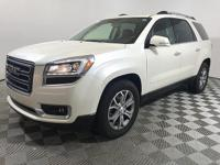2014 GMC Acadia SLT-1, ONE OWNER, CLEAN CARFAX,