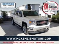 Certified. White Diamond Tricoat 2014 GMC Sierra 1500