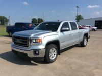 New Price! Silver 2014 GMC Sierra 1500 SLE 4WD 6-Speed