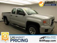 CARFAX One-Owner. Quicksilver Metallic 2014 GMC Sierra