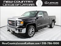 Onyx Black 2014 GMC Sierra 1500 SLT 4WD 6-Speed