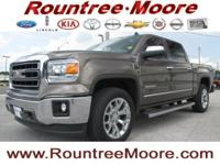 NAVIGATION, LEATHER, 4X4, TOW PACKAGE, and Z71. Sierra