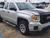 Certified. Quicksilver Metallic 2014 GMC Sierra 1500