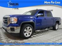 Sierra 1500 SLE, 4D Crew Cab, 6-Speed Automatic