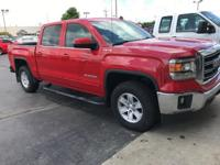 CARFAX One-Owner. Clean CARFAX. Fire Red 2014 GMC