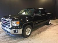 2014 GMC Sierra 1500 SLE in Black and GM Certified.