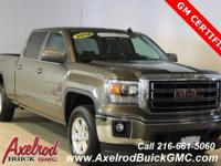 ** GM CERTIFIED ** GMC SIERRA 1500, SLE PACKAGE, 4X4, 4