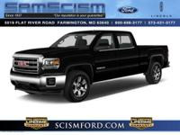 4 Wheel Drive!!!4X4!!!4WD*** This gas-saving 2014 GMC