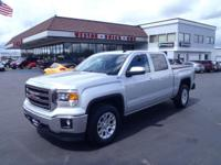 CARFAX One-Owner. 2014 GMC Sierra 1500 SLE Silver One
