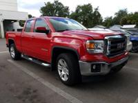 Fire Red 2014 GMC Sierra 1500 SLE 4WD 6-Speed Automatic