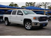 Summit White 2014 GMC Sierra 1500 SLE 6-Speed Automatic