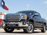 2014 GMC Sierra 1500 w/ Texas SLT Package Onyx Black