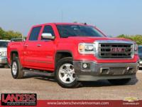 Red 2014 GMC Sierra 1500 SLT RWD 6-Speed Automatic