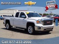 2014 SIERRA 1500 SLT with LOW MILES - Certified - One
